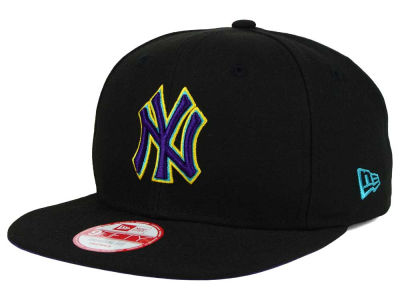 New York Yankees MLB Aqua Hook Basic 9FIFTY Snapback Cap Hats