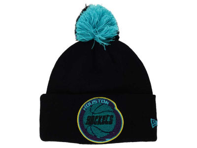 Houston Rockets NBA HWC Aqua Hook Knit Hats