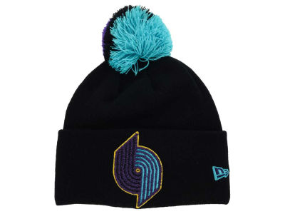 Portland Trail Blazers NBA HWC Aqua Hook Knit Hats