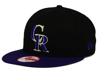 Colorado Rockies MLB The Letter Man 9FIFTY Snapback Cap Hats