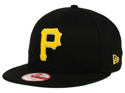 Pittsburgh Pirates MLB The Letter Man 9FIFTY Snapback Cap Hats
