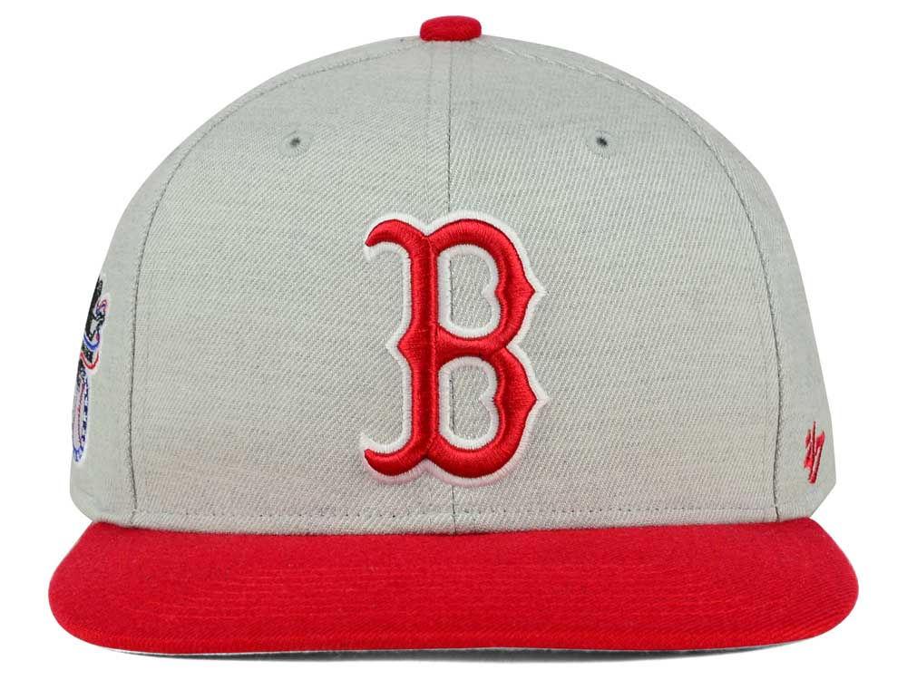 7505829681e40 30%OFF Boston Red Sox  47 MLB  47 Sure Shot 2 Tone Snapback Cap ...