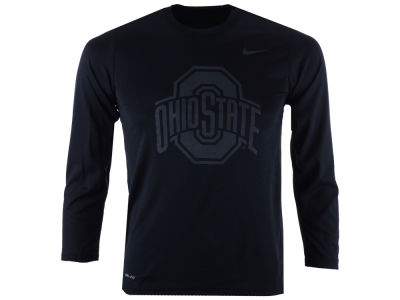 Nike NCAA Youth Tonal Logo Legend Long Sleeve T-Shirt