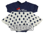 Ole Miss Rebels NCAA Newborn Polka Dot Dress Dresses