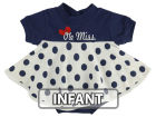 Ole Miss Rebels NCAA Infant Polka Dot Dress Infant Apparel