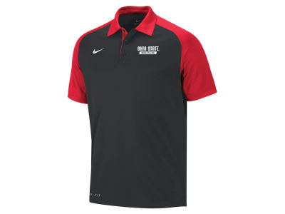 Nike NCAA Men's Wrestling Dugout Polo Shirt