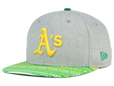 Oakland Athletics MLB Neon Mashup 9FIFTY Snapback Cap Hats