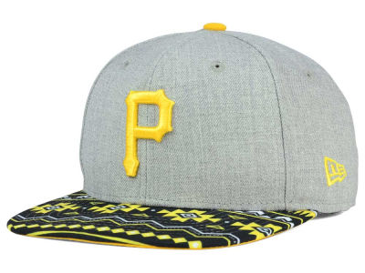 Pittsburgh Pirates MLB Neon Mashup 9FIFTY Snapback Cap Hats