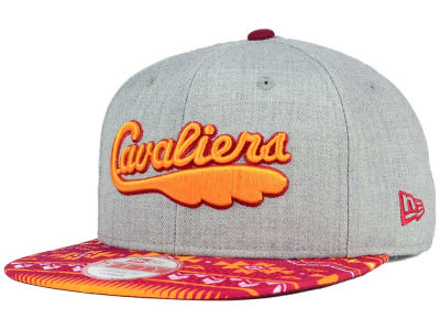 Cleveland Cavaliers NBA HWC Neon Mashup 9FIFTY Snapback Cap Hats