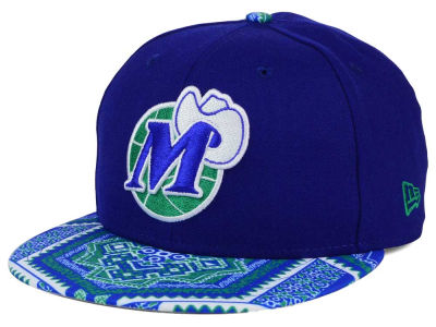 Dallas Mavericks NBA HWC Kaleidovize 9FIFTY Snapback Cap Hats
