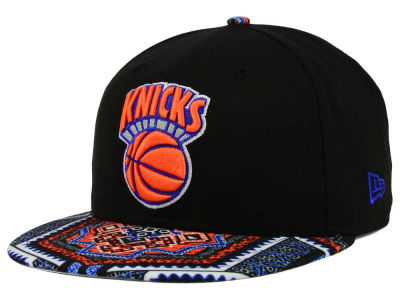 New York Knicks NBA HWC Kaleidovize 9FIFTY Snapback Cap Hats