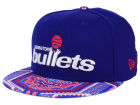 Washington Bullets New Era NBA HWC Kaleidovize 9FIFTY Snapback Cap Adjustable Hats