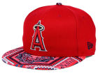 Los Angeles Angels New Era MLB Kaleidovize 9FIFTY Snapback Cap Adjustable Hats