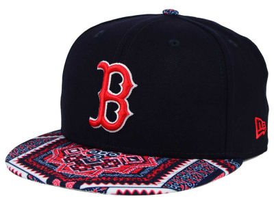 Boston Red Sox MLB Kaleidovize 9FIFTY Snapback Cap Hats
