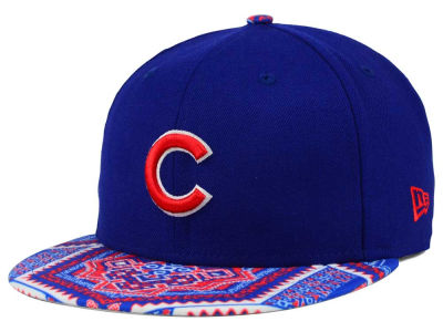 Chicago Cubs MLB Kaleidovize 9FIFTY Snapback Cap Hats