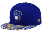 Milwaukee Brewers New Era MLB Kaleidovize 9FIFTY Snapback Cap Adjustable Hats