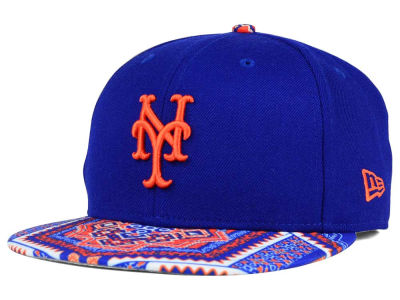 New York Mets MLB Kaleidovize 9FIFTY Snapback Cap Hats