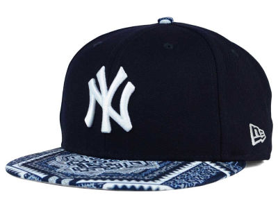 New York Yankees MLB Kaleidovize 9FIFTY Snapback Cap Hats