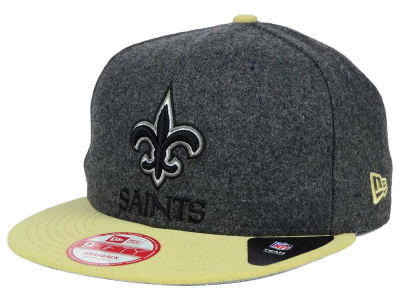 New Orleans Saints NFL Shader Melt 9FIFTY Snapback Cap Hats