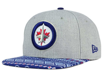 Winnipeg Jets NHL Neon Mashup 9FIFTY Snapback Cap Hats