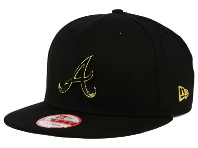 Atlanta Braves MLB League O'Gold 9FIFTY Snapback Cap Hats