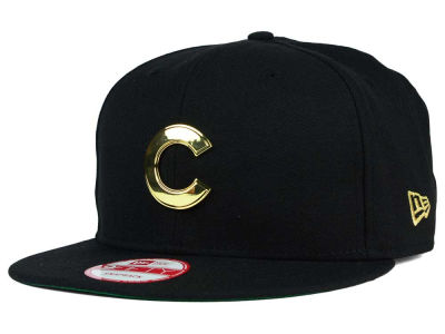 Chicago Cubs MLB League O'Gold 9FIFTY Snapback Cap Hats