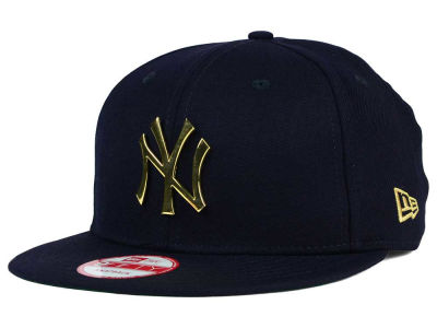 New York Yankees MLB League O'Gold 9FIFTY Snapback Cap Hats