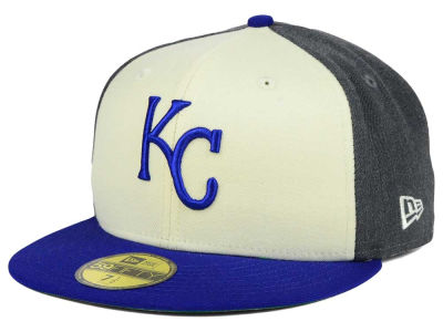 Kansas City Royals MLB Classic Coop 59FIFTY Cap Hats