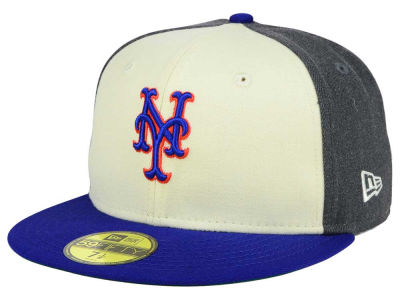 New York Mets MLB Classic Coop 59FIFTY Cap Hats
