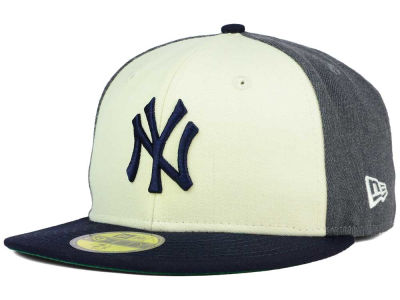 New York Yankees MLB Classic Coop 59FIFTY Cap Hats