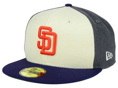 San Diego Padres MLB Classic Coop 59FIFTY Cap Hats