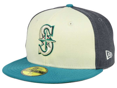 Seattle Mariners MLB Classic Coop 59FIFTY Cap Hats