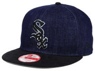 New Era MLB 2 Tone Denim Suede 9FIFTY Snapback Cap Adjustable Hats