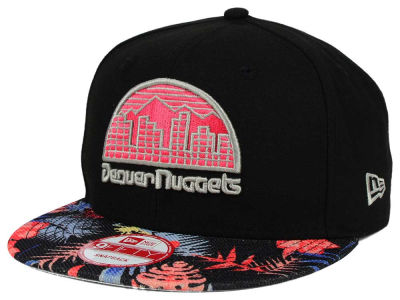 Denver Nuggets NBA HWC Fall Floral 9FIFTY Snapback Cap Hats