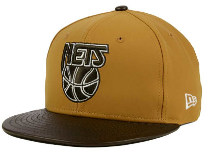 New Jersey Nets NBA HWC Suedebuck 9FIFTY Snapback Cap Hats