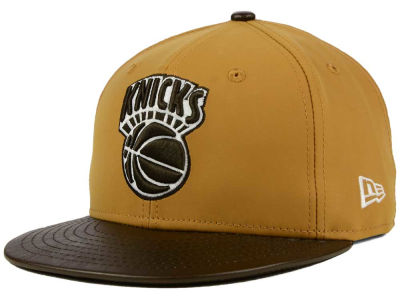 New York Knicks NBA HWC Suedebuck 9FIFTY Snapback Cap Hats