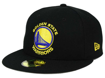 Golden State Warriors NBA Champs Patch 59FIFTY Cap Hats