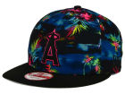 Los Angeles Angels New Era MLB Dark Tropic 9FIFTY Snapback Cap Adjustable Hats