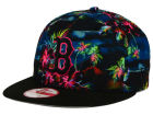 Boston Red Sox New Era MLB Dark Tropic 9FIFTY Snapback Cap Adjustable Hats