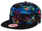 New York Yankees New Era MLB Dark Tropic 9FIFTY Snapback Cap Adjustable Hats