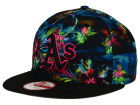 Oakland Athletics New Era MLB Dark Tropic 9FIFTY Snapback Cap Adjustable Hats