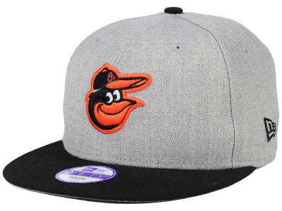 Baltimore Orioles MLB Youth Lil Heather Team Color 9FIFTY Snapback Cap Hats