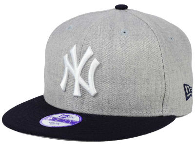 New York Yankees MLB Youth Lil Heather Team Color 9FIFTY Snapback Cap Hats