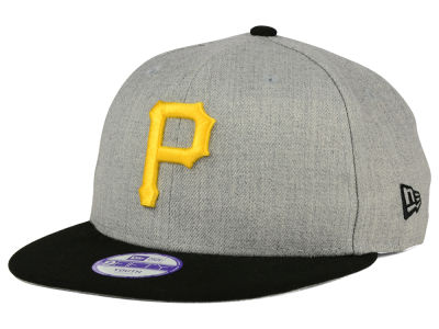 Pittsburgh Pirates MLB Youth Lil Heather Team Color 9FIFTY Snapback Cap Hats