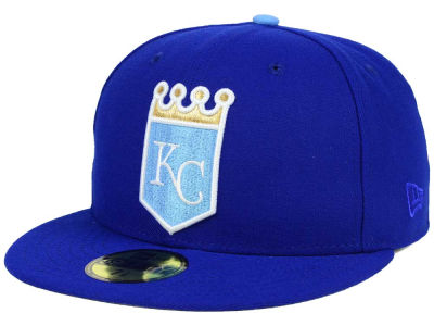 Kansas City Royals MLB The Playoff Push 59FIFTY Cap Hats