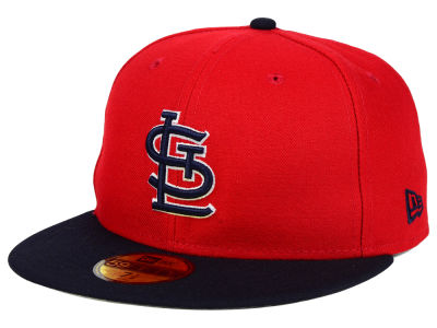 St. Louis Cardinals MLB The Playoff Push 59FIFTY Cap Hats