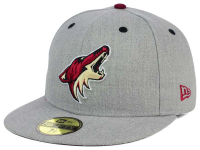 Arizona Coyotes NHL Heather TC 59FIFTY Cap Hats