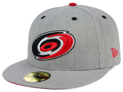 Carolina Hurricanes NHL Heather TC 59FIFTY Cap Hats