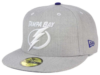 Tampa Bay Lightning NHL Heather TC 59FIFTY Cap Hats