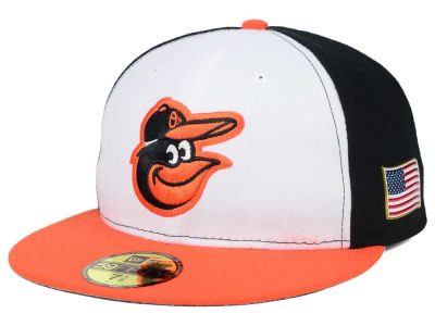 Baltimore Orioles MLB AC 9-11 Patch 59FIFTY Cap Hats